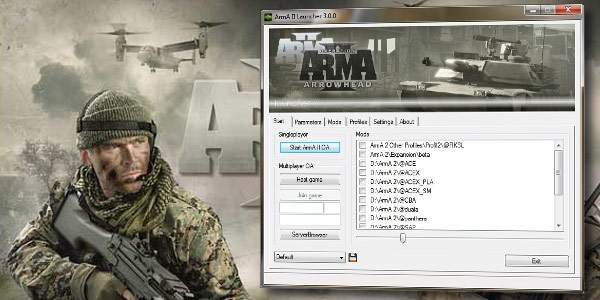Arma 2 Launcher (Video game localization)